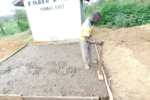 The Water Project: Emachina Primary School -  Construction Of Vip Latrine