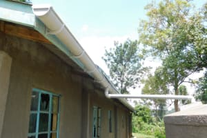 The Water Project: Emachina Primary School -  Guttering System