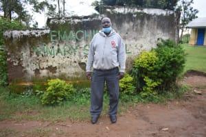 The Water Project: Emachina Primary School -  Iddi Okere Akunda