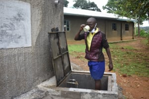 The Water Project: Emachina Primary School -  Quenching Thirst