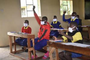 The Water Project: Emachina Primary School -  The Session Was Interactive