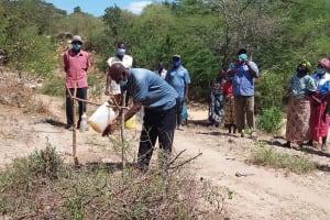 The Water Project: Lema Community A -  Handwashing Demonstration