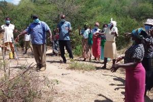 The Water Project: Lema Community A -  Handwashing Training