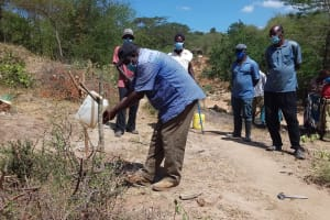 The Water Project: Lema Community A -  Handwashing