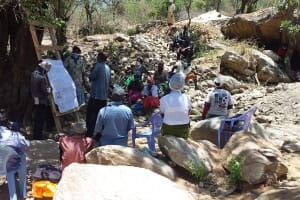The Water Project: Lema Community A -  Hygiene And Sanitation Training