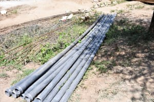 The Water Project: Lema Community A -  Pipes