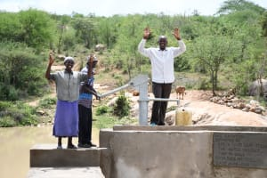 The Water Project: Lema Community A -  Celebrating The Well