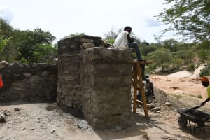 The Water Project: Lema Community A -  Working On The Well