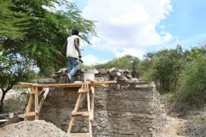 The Water Project: Lema Community A -  Building Up Well
