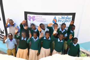 The Water Project: Mung'alu Primary School -  Hi