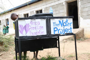 The Water Project: Ndithi Primary School -  New Handwashing Stations