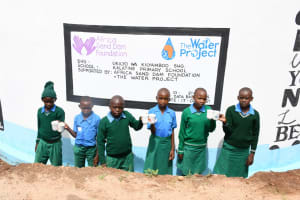 The Water Project: Kalatine Primary School -  Cheers