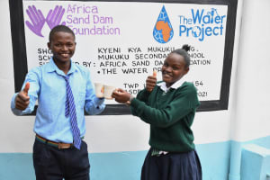 The Water Project: Mukuku Mixed Secondary School -  Cheers