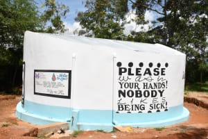 The Water Project: Mukuku Mixed Secondary School -  Complete And Painted Tank
