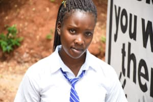 The Water Project: Mukuku Mixed Secondary School -  Frida N