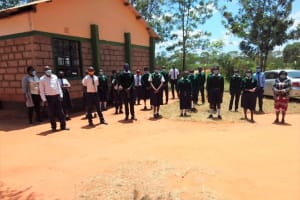 The Water Project: Mukuku Mixed Secondary School -  Health Club Members