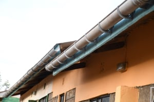 The Water Project: Mukuku Mixed Secondary School -  Installed Gutters