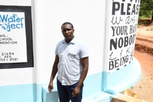 The Water Project: Mukuku Mixed Secondary School -  Samuel Manthi