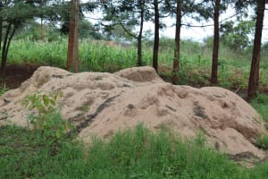The Water Project: Mukuku Mixed Secondary School -  Sand