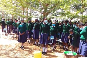 The Water Project: Mukuku Mixed Secondary School -  Soap Making