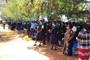 The Water Project: Mukuku Mixed Secondary School -  Students At The Training
