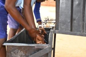 The Water Project: Mang'uu Primary School -  Handwashing