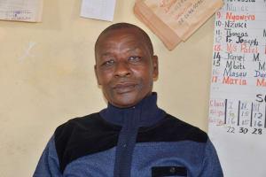 The Water Project: Migwani DEB Primary School Rain Tank -  Duncan Masau