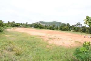 The Water Project: Migwani DEB Primary School Rain Tank -  Play Ground