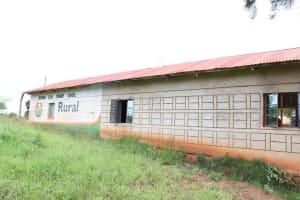 The Water Project: Migwani DEB Primary School Rain Tank -  School Building
