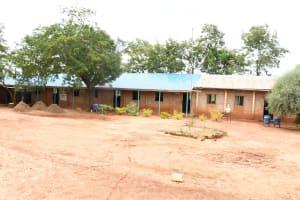 The Water Project: Migwani DEB Primary School Rain Tank -  School Buildings