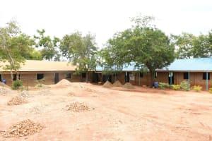 The Water Project: Migwani DEB Primary School Rain Tank -  School Grounds