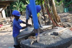 The Water Project: Kamasondo, Masinneh Village -  Drilling