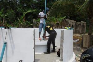 The Water Project: Kamasondo, Masinneh Village -  Pump Installation