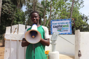 The Water Project: Lokomasama, Bompa Morie Village -  Alusine S