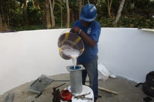 The Water Project: Lokomasama, Bompa Morie Village -  Chlorination
