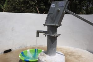 The Water Project: Lokomasama, Bompa Morie Village -  Clean Water Flowing