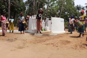 The Water Project: Lokomasama, Bompa Morie Village -  Dedication Celebration
