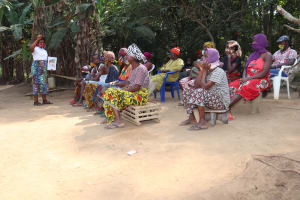 The Water Project: Lokomasama, Bompa Morie Village -  Hygiene Facilitator Teaching