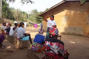 The Water Project: Lokomasama, Bompa Morie Village -  Hygiene Training
