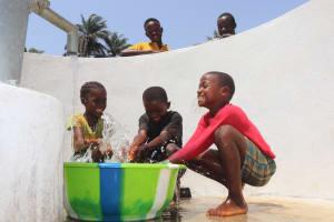 The Water Project: Lokomasama, Bompa Morie Village -  Kids Celebrate