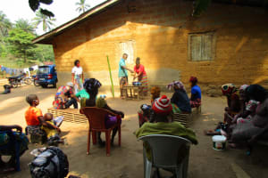 The Water Project: Lokomasama, Bompa Morie Village -  Participants Demonstrate Handwashing