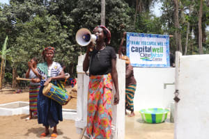 The Water Project: Lokomasama, Bompa Morie Village -  Speech At The Well Dedication