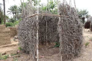 The Water Project: Kamasondo, Bross 1 -  Bath Shelter