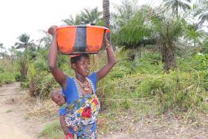 The Water Project: Kamasondo, Bross 1 -  Carrying Water