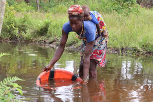 The Water Project: Kamasondo, Bross 1 -  Fetching Water