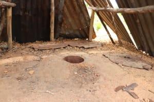 The Water Project: Kamasondo, Bross 1 -  Inside Latrine