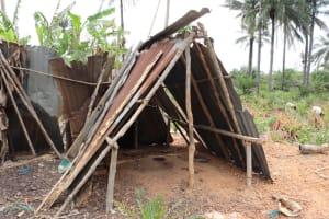 The Water Project: Kamasondo, Bross 1 -  Latrine