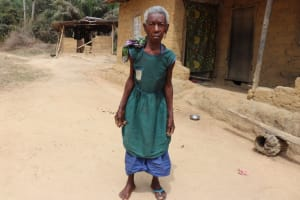 The Water Project: Kamasondo, Bross 1 -  Oldest Woman In The Village