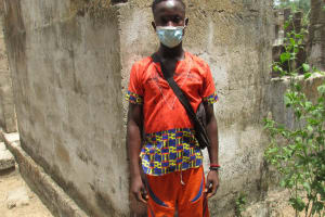 The Water Project: Kamasondo, Masinneh Village -  Ibrahim K