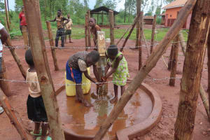 The Water Project: Marongo-Kahembe Community -  Children Play At The Well